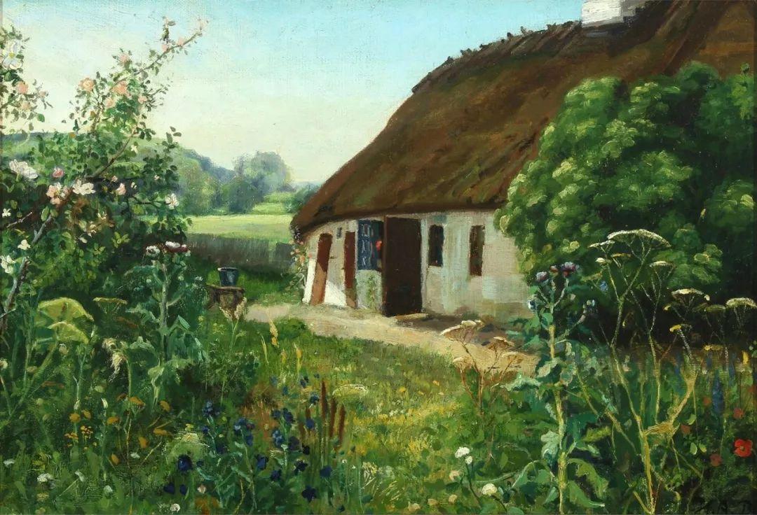丹麦画家Hans Andersen Brendekilde作品集二插图28