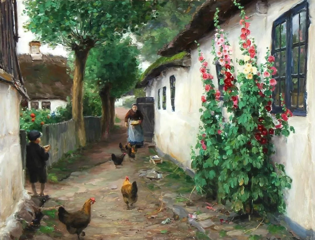 丹麦画家Hans Andersen Brendekilde作品集二插图29
