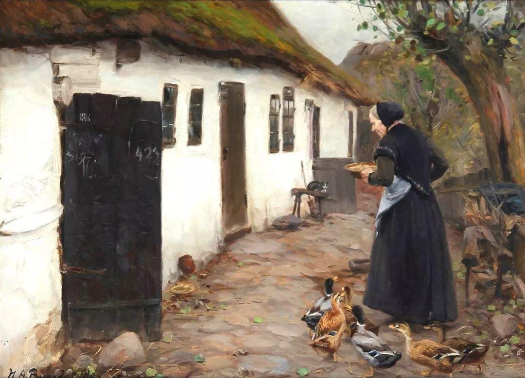 丹麦画家Hans Andersen Brendekilde作品集二插图30