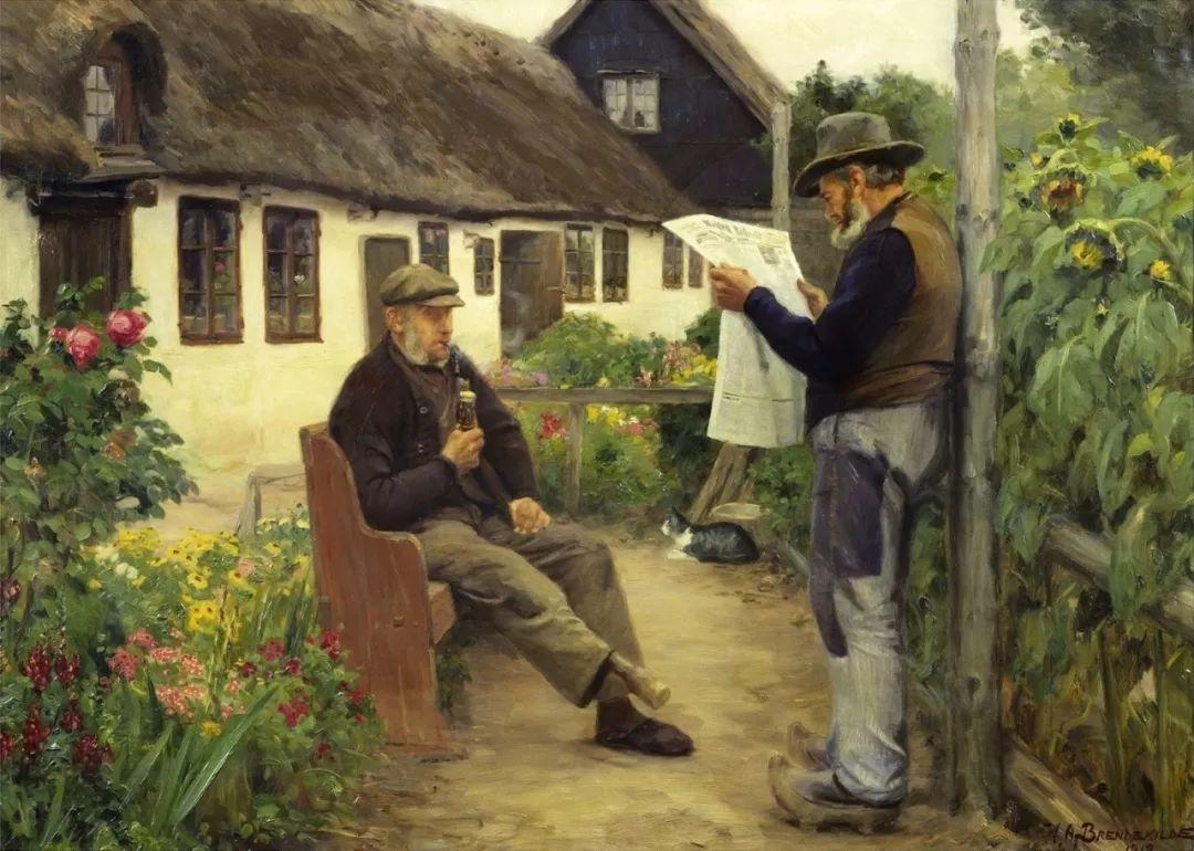 丹麦画家Hans Andersen Brendekilde作品集二插图31