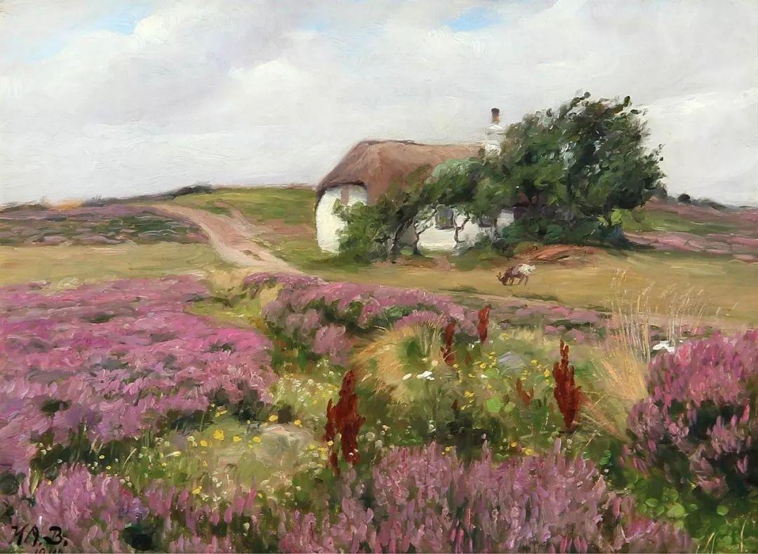 丹麦画家Hans Andersen Brendekilde作品集二插图33