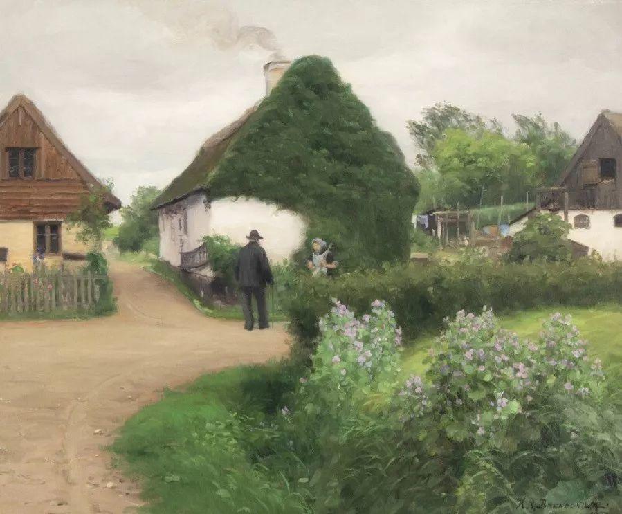 丹麦画家Hans Andersen Brendekilde作品集二插图35