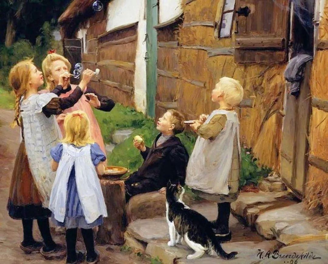丹麦画家Hans Andersen Brendekilde作品集二插图36