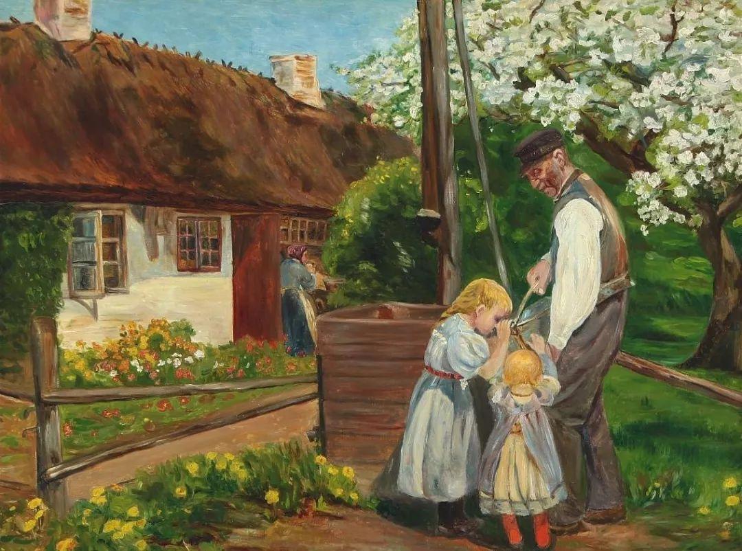 丹麦画家Hans Andersen Brendekilde作品集二插图39