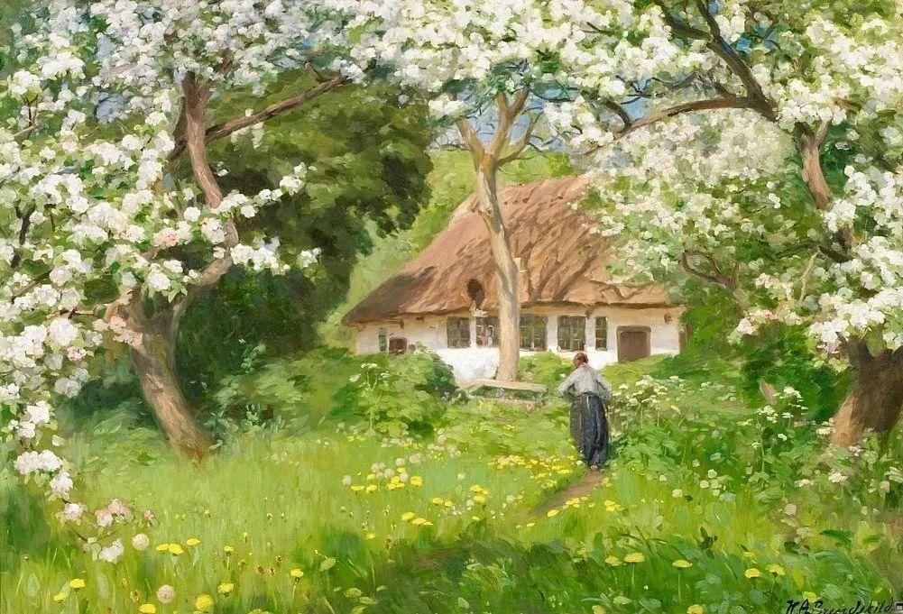 丹麦画家Hans Andersen Brendekilde作品集二插图40
