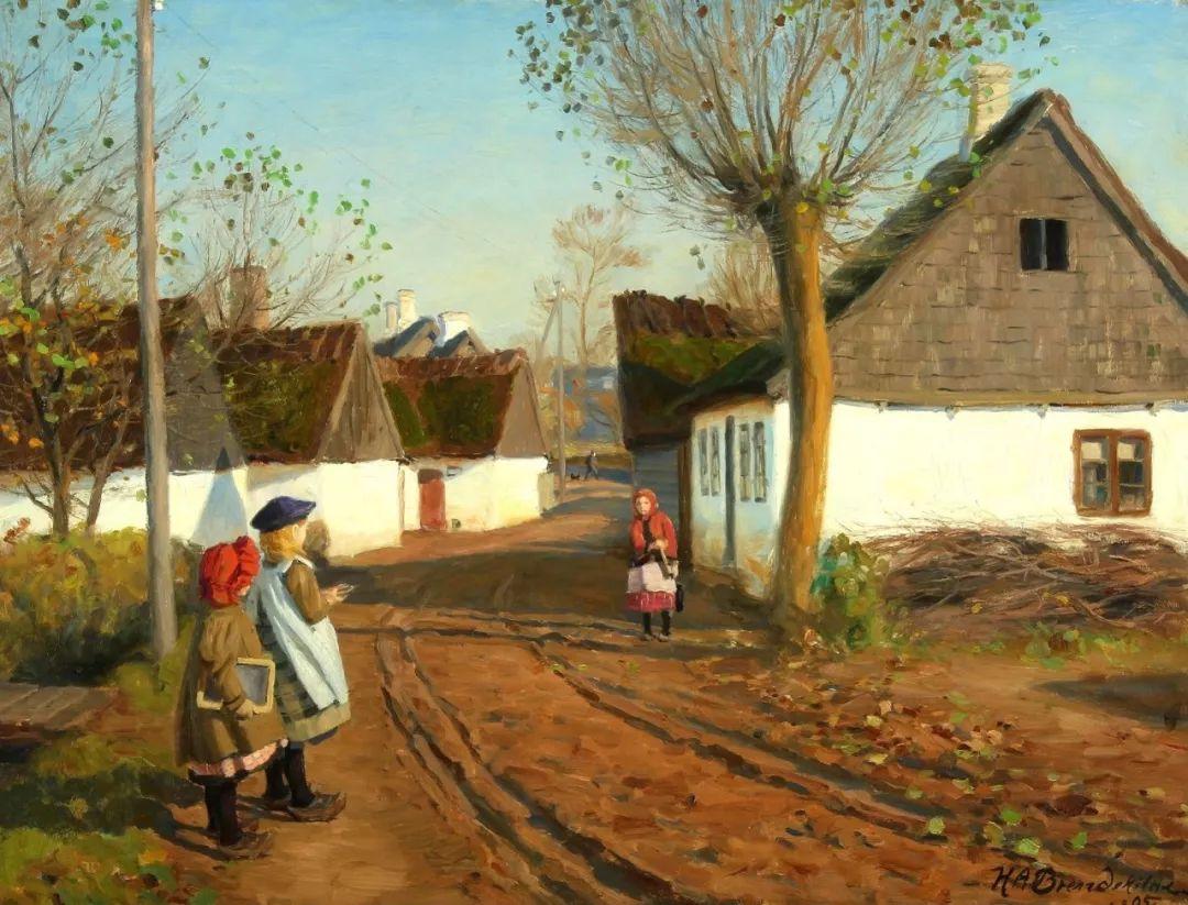丹麦画家Hans Andersen Brendekilde作品集二插图42