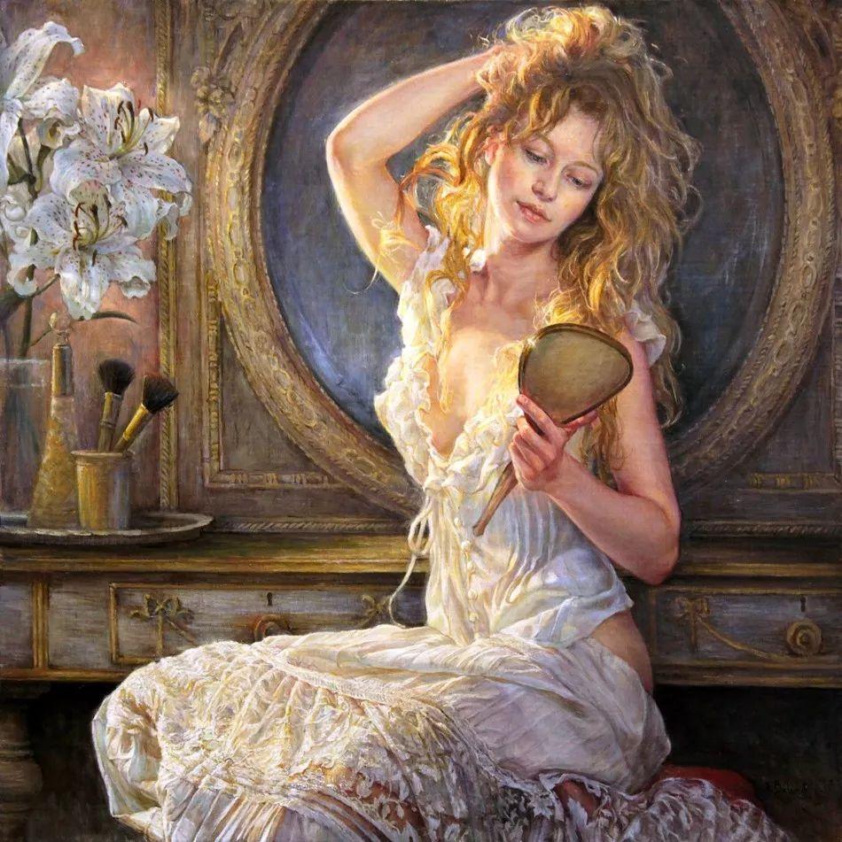 她的作品有一种沐浴阳光的暖感,加拿大画家海伦·贝兰德插图1