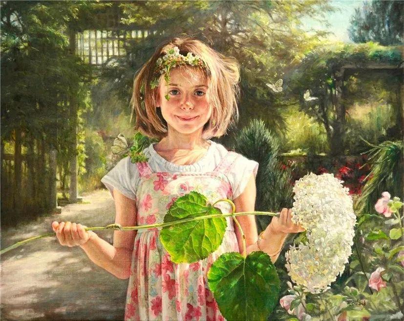 她的作品有一种沐浴阳光的暖感,加拿大画家海伦·贝兰德插图5
