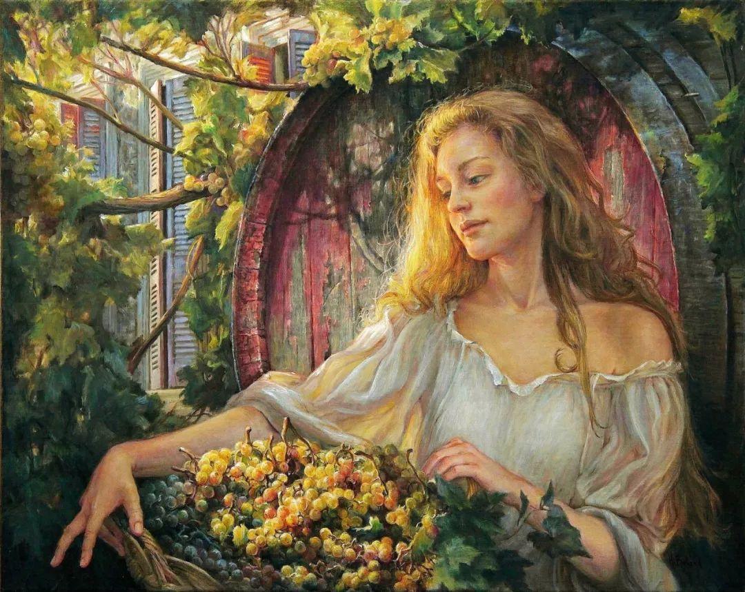她的作品有一种沐浴阳光的暖感,加拿大画家海伦·贝兰德插图9