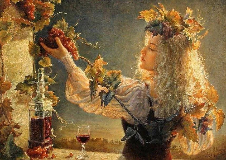 她的作品有一种沐浴阳光的暖感,加拿大画家海伦·贝兰德插图11