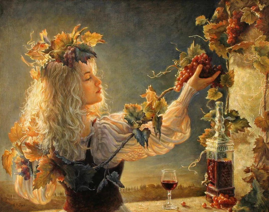 她的作品有一种沐浴阳光的暖感,加拿大画家海伦·贝兰德插图12