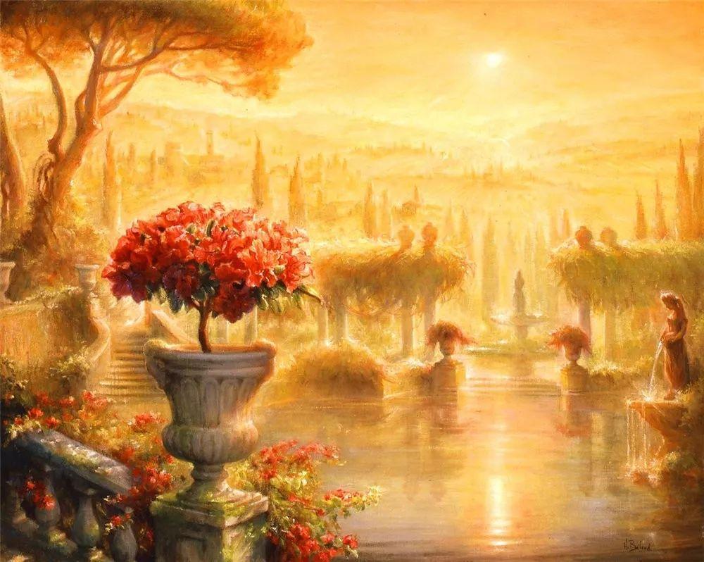 她的作品有一种沐浴阳光的暖感,加拿大画家海伦·贝兰德插图15