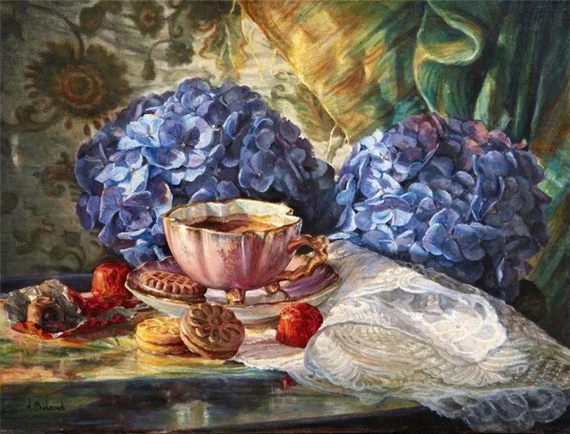 她的作品有一种沐浴阳光的暖感,加拿大画家海伦·贝兰德插图16