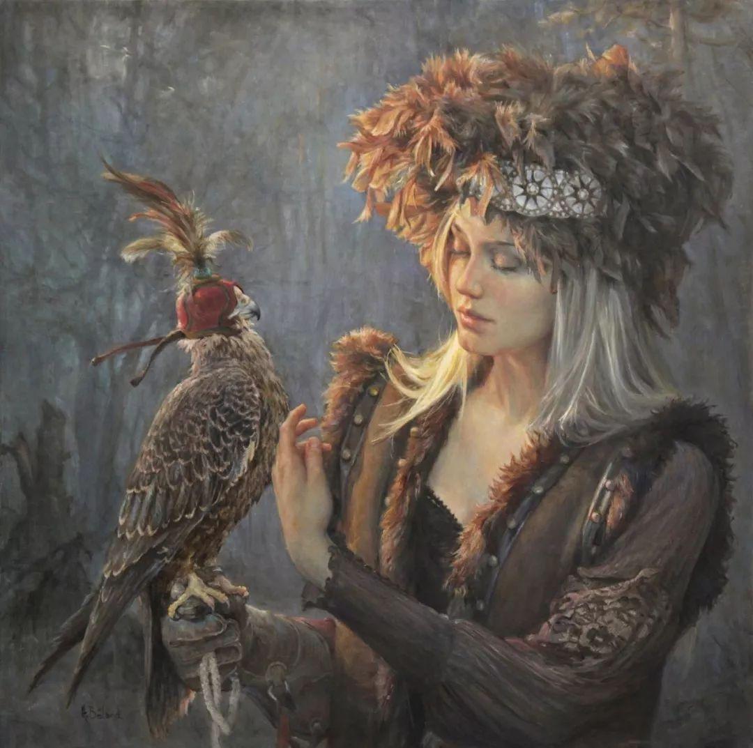 她的作品有一种沐浴阳光的暖感,加拿大画家海伦·贝兰德插图28