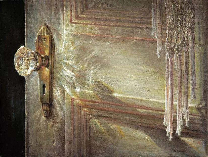 她的作品有一种沐浴阳光的暖感,加拿大画家海伦·贝兰德插图29