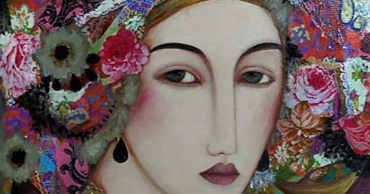 女性美丽与复杂的诠释,阿尔及利亚画家Faiza Maghni插图13