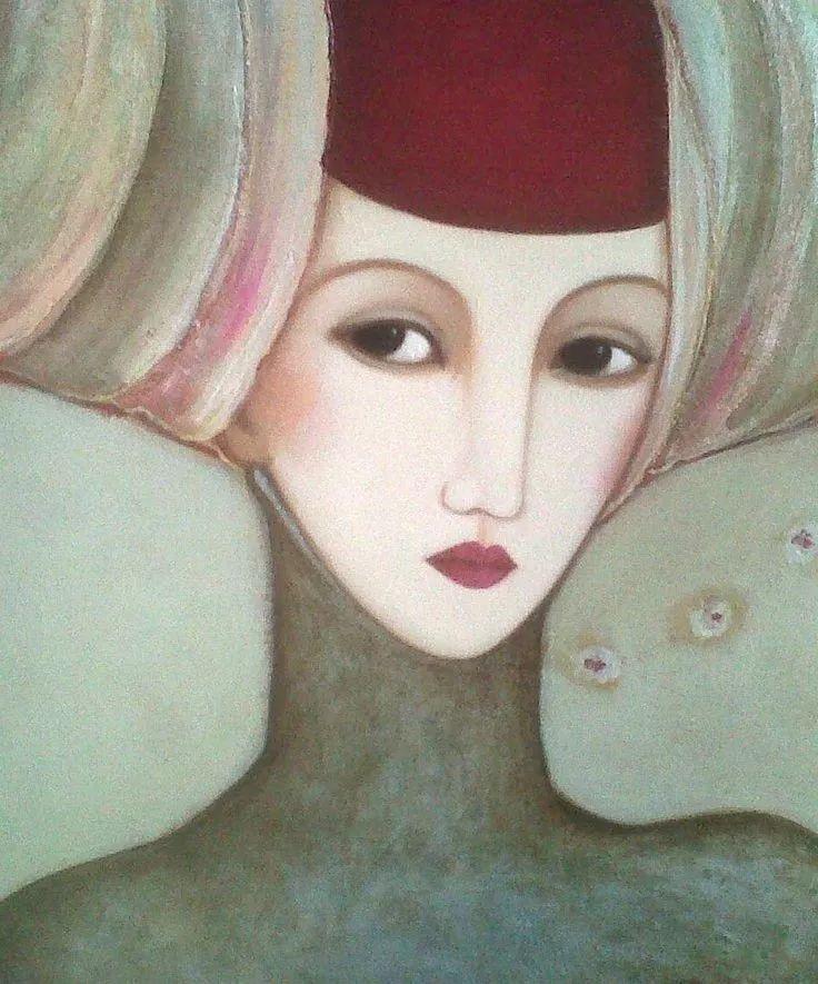 女性美丽与复杂的诠释,阿尔及利亚画家Faiza Maghni插图17