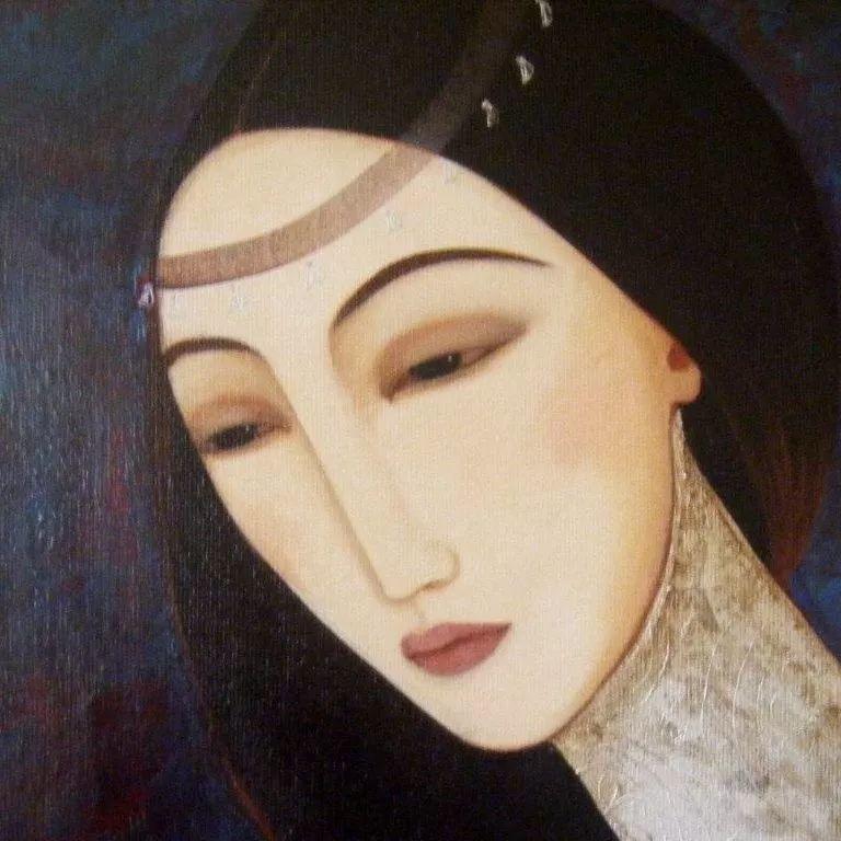 女性美丽与复杂的诠释,阿尔及利亚画家Faiza Maghni插图21