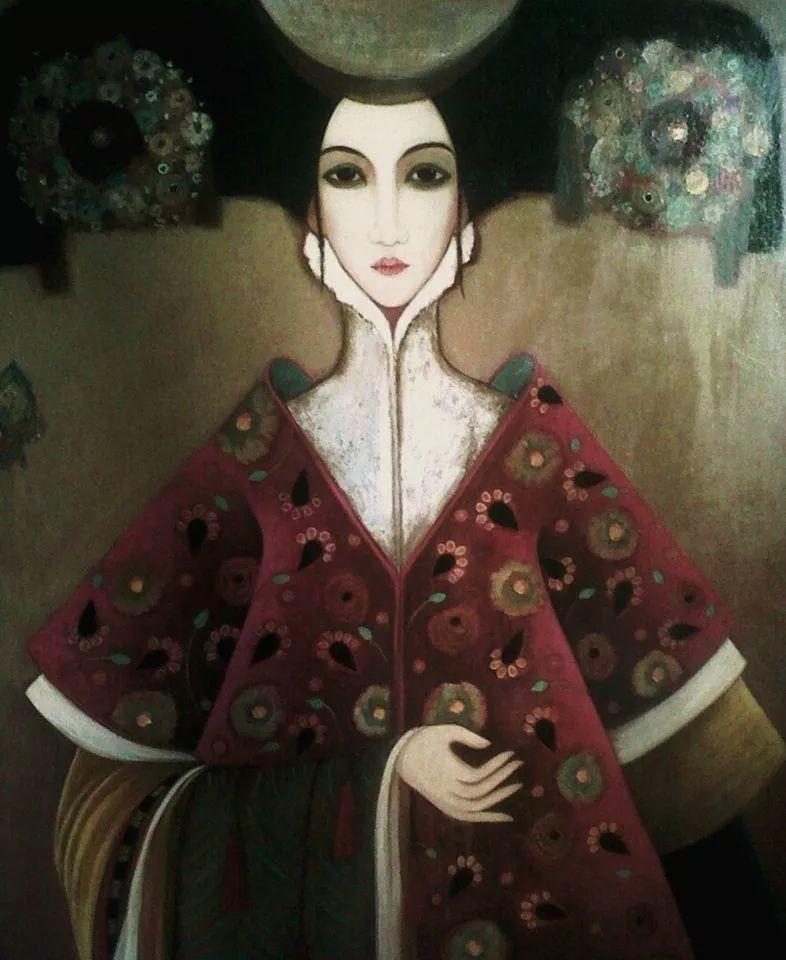 女性美丽与复杂的诠释,阿尔及利亚画家Faiza Maghni插图25