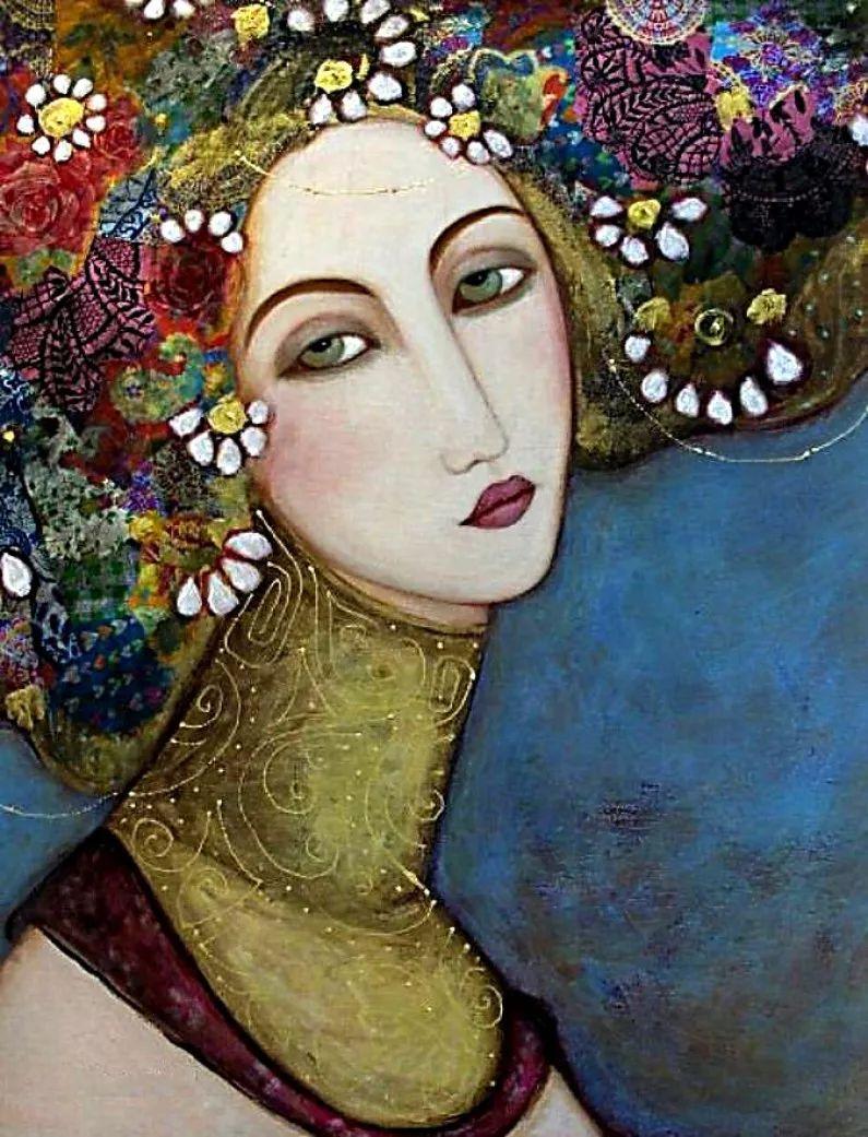 女性美丽与复杂的诠释,阿尔及利亚画家Faiza Maghni插图29
