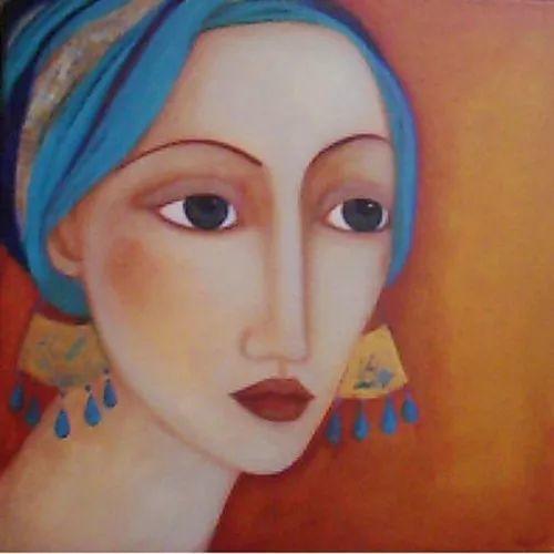 女性美丽与复杂的诠释,阿尔及利亚画家Faiza Maghni插图39