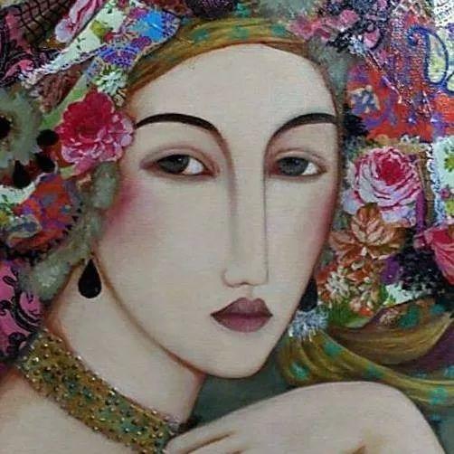 女性美丽与复杂的诠释,阿尔及利亚画家Faiza Maghni插图41