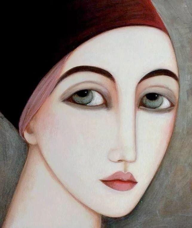 女性美丽与复杂的诠释,阿尔及利亚画家Faiza Maghni插图45
