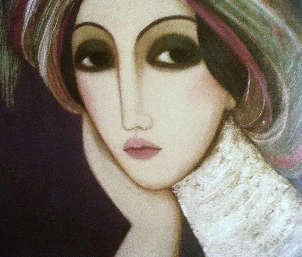 女性美丽与复杂的诠释,阿尔及利亚画家Faiza Maghni插图49