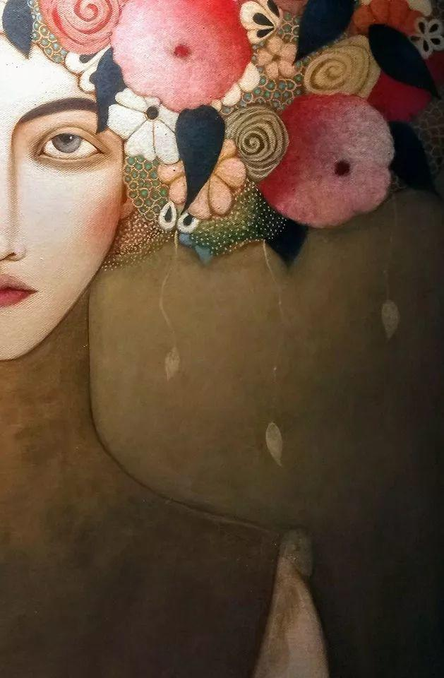 女性美丽与复杂的诠释,阿尔及利亚画家Faiza Maghni插图53