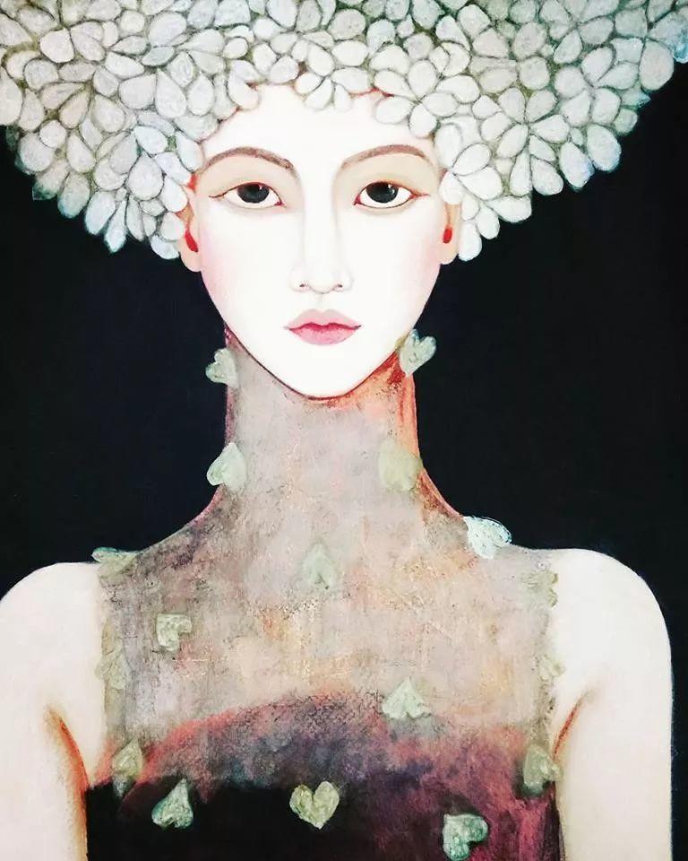 女性美丽与复杂的诠释,阿尔及利亚画家Faiza Maghni插图57