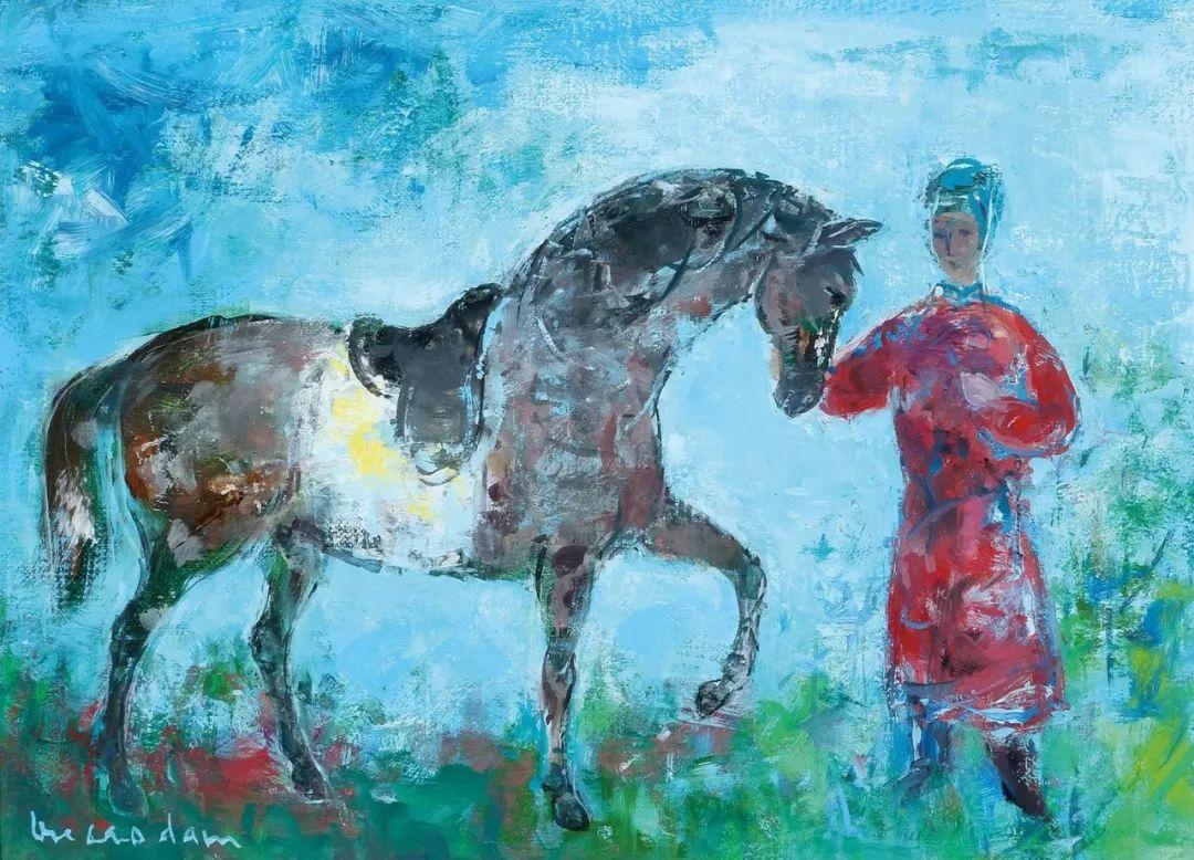 壁画风格绘画,色彩丰富、色调柔和!插图106