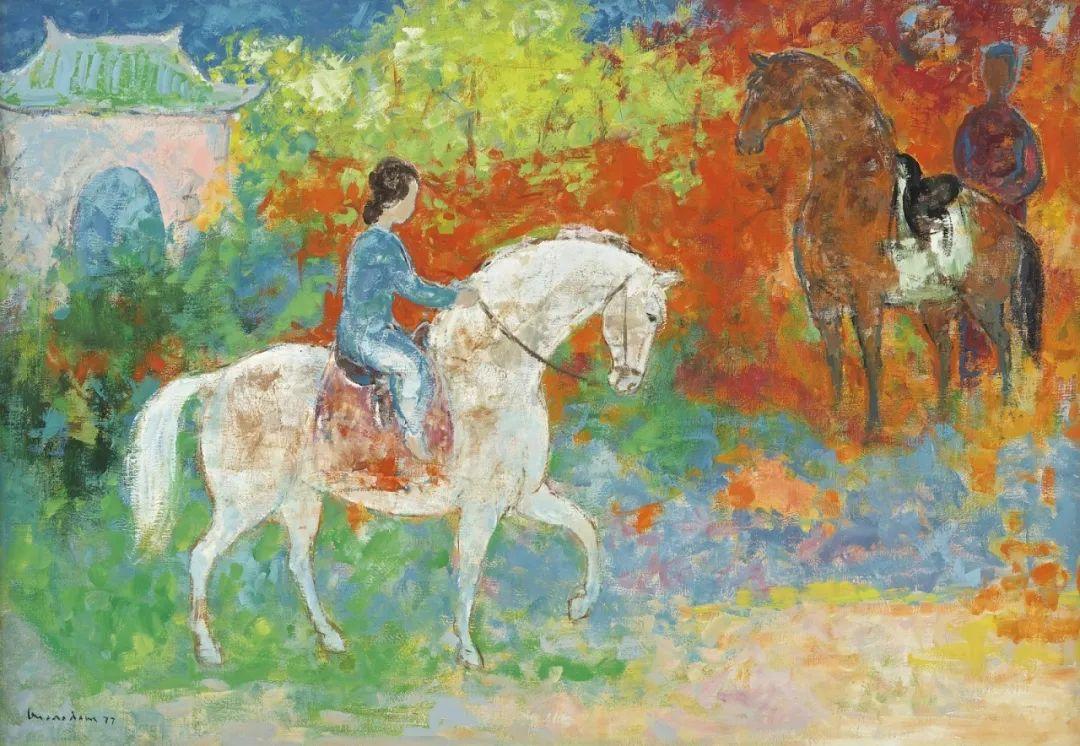 壁画风格绘画,色彩丰富、色调柔和!插图118