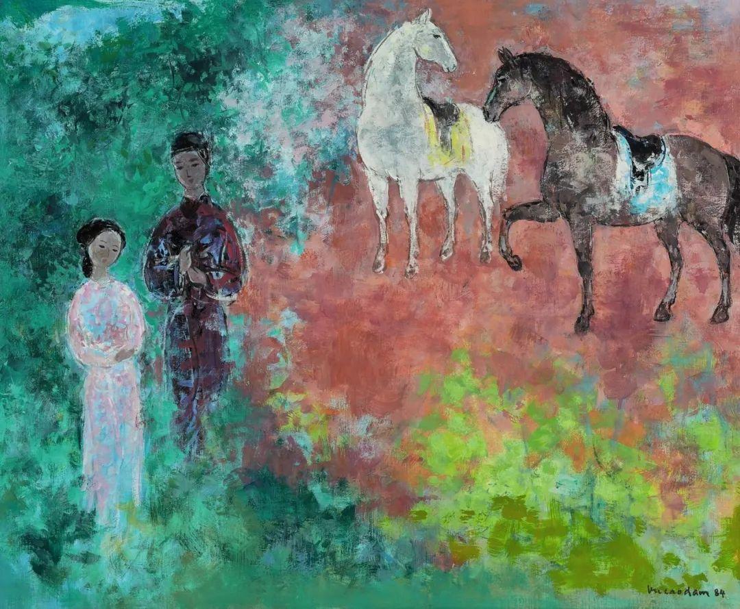 壁画风格绘画,色彩丰富、色调柔和!插图132