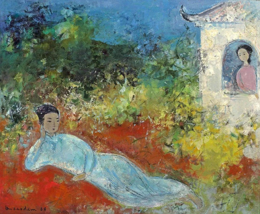 壁画风格绘画,色彩丰富、色调柔和!插图138
