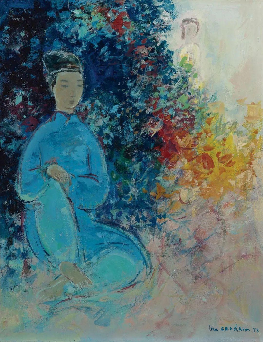 壁画风格绘画,色彩丰富、色调柔和!插图140