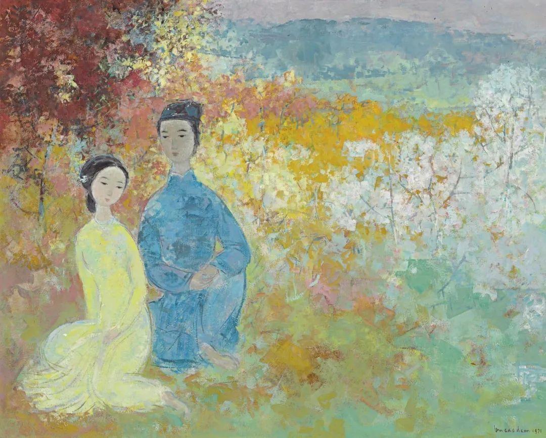 壁画风格绘画,色彩丰富、色调柔和!插图152