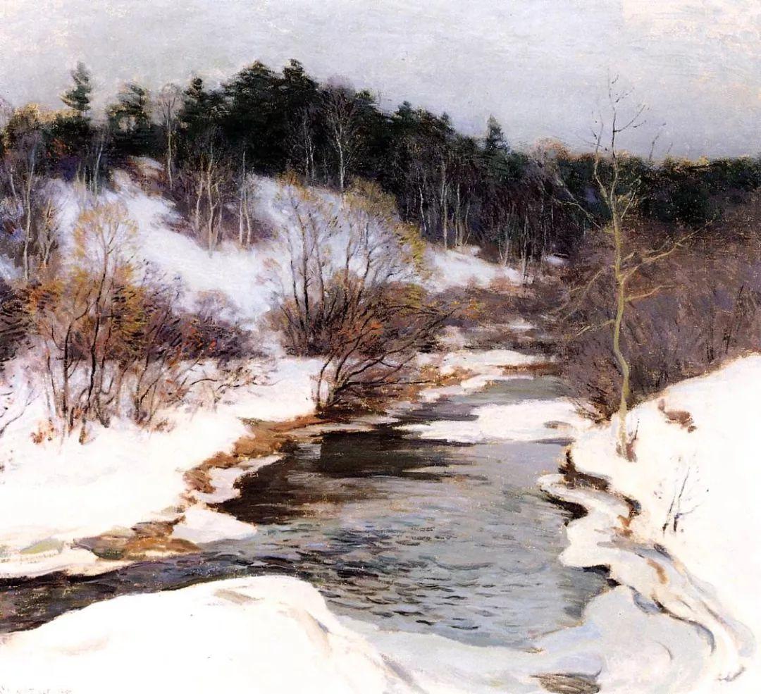 自然的真意和力量,美国画家Willard Leroy Metcalf插图2