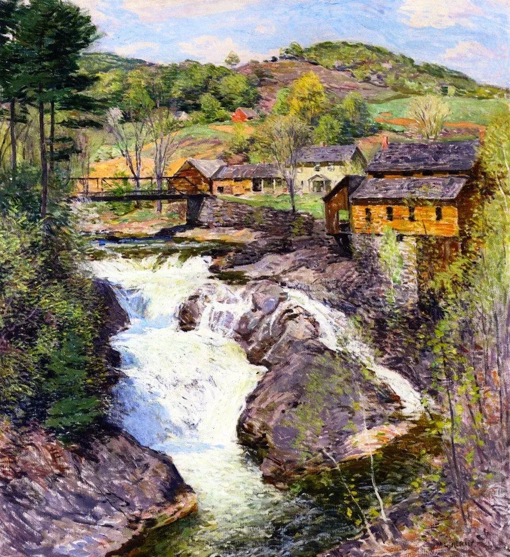 自然的真意和力量,美国画家Willard Leroy Metcalf插图6