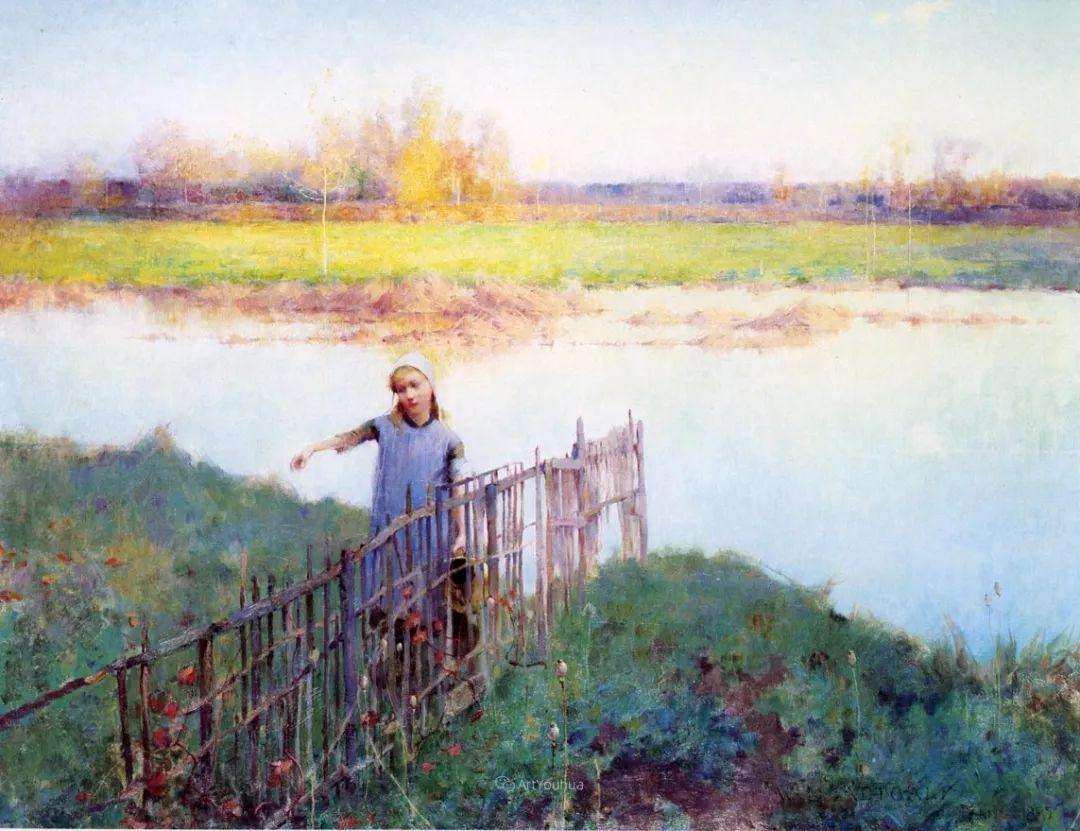 自然的真意和力量,美国画家Willard Leroy Metcalf插图33