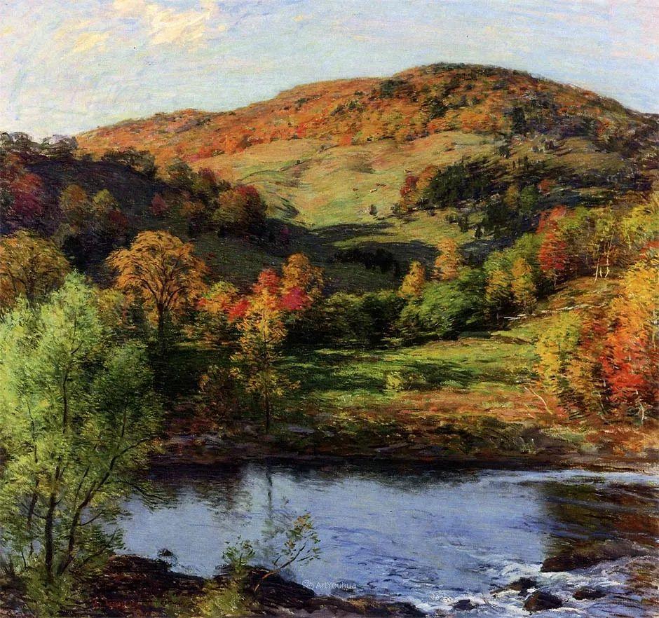 自然的真意和力量,美国画家Willard Leroy Metcalf插图41