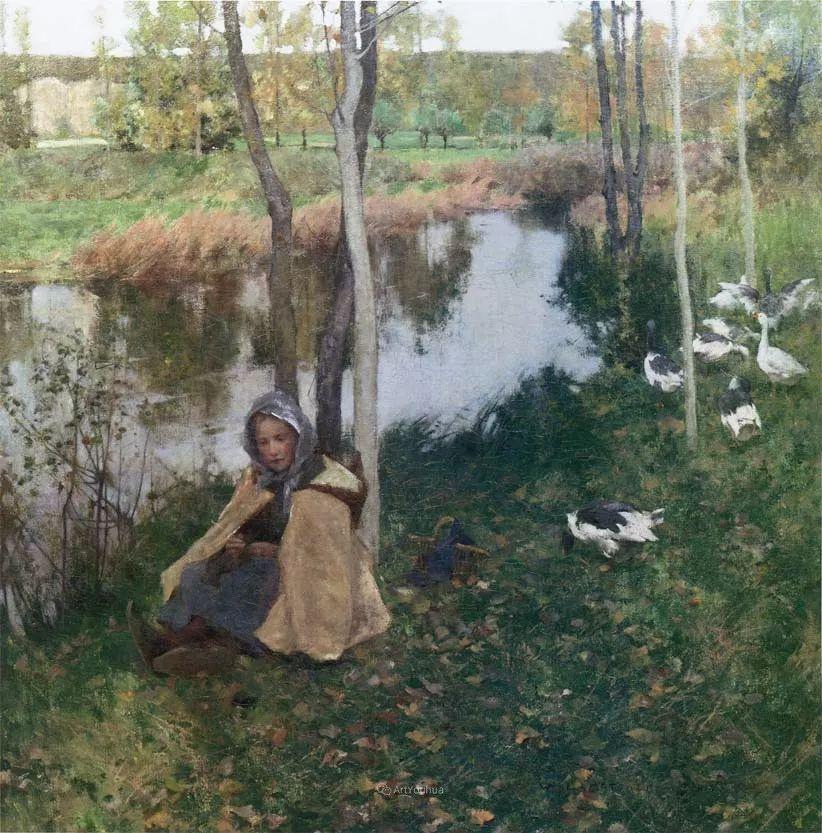 自然的真意和力量,美国画家Willard Leroy Metcalf插图46
