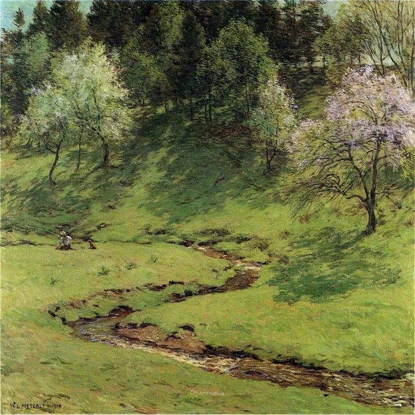 自然的真意和力量,美国画家Willard Leroy Metcalf插图52