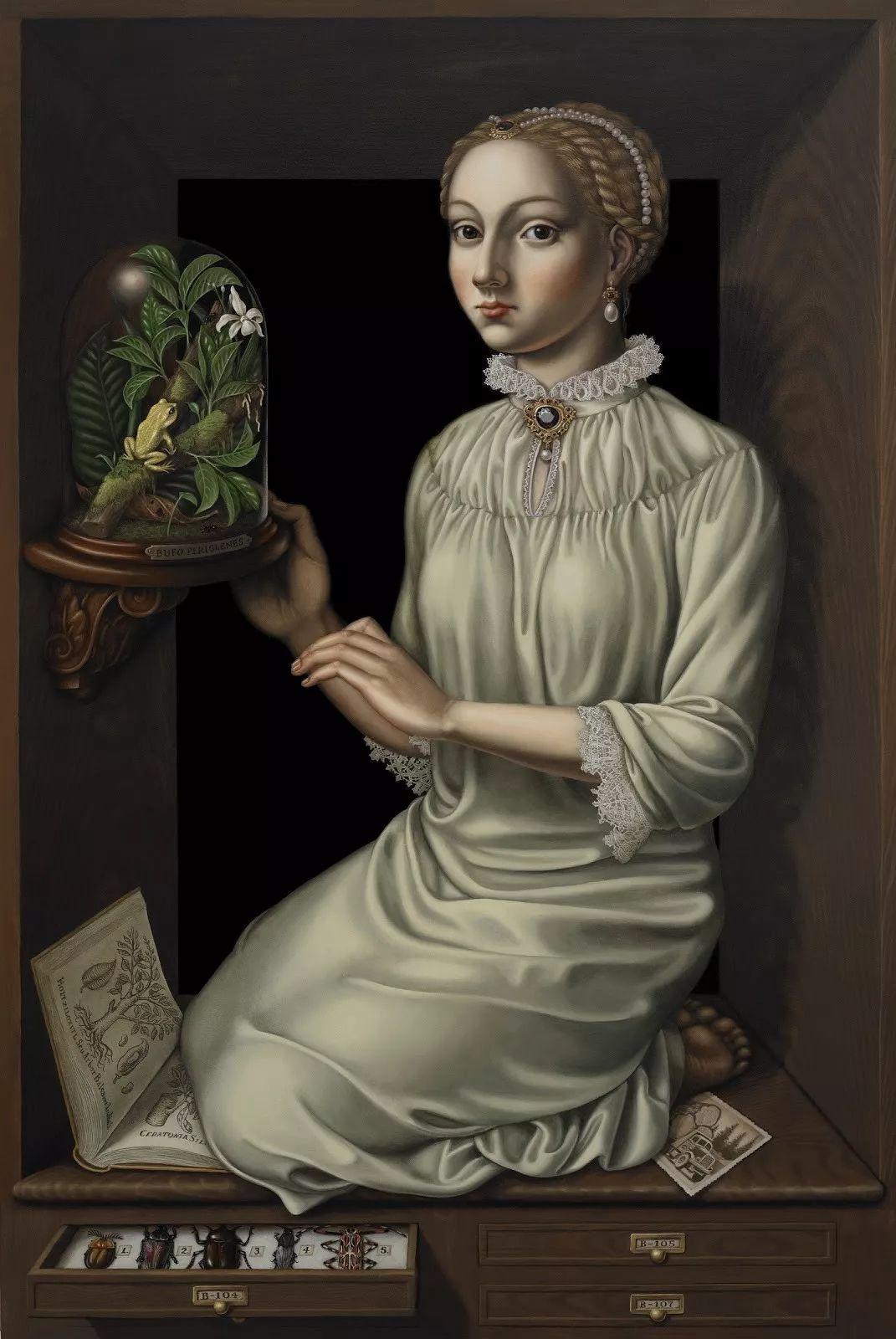 超现实主义,美国画家玛德琳·冯·福斯特插图1