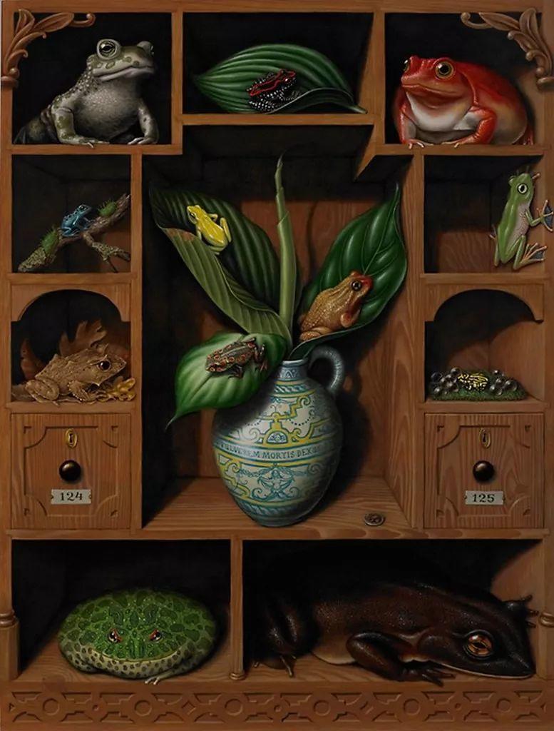 超现实主义,美国画家玛德琳·冯·福斯特插图7