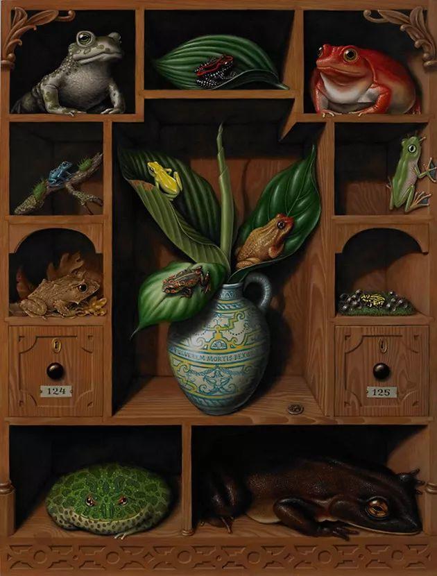 超现实主义,美国画家玛德琳·冯·福斯特插图13