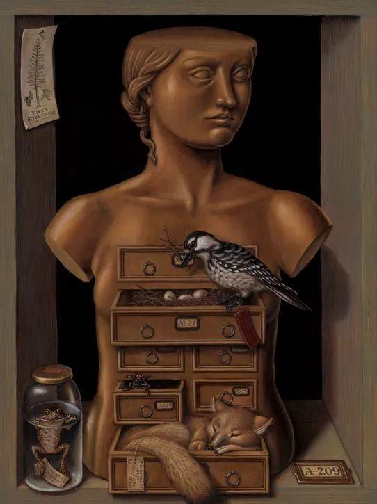 超现实主义,美国画家玛德琳·冯·福斯特插图23