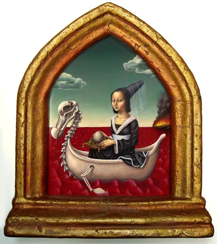 超现实主义,美国画家玛德琳·冯·福斯特插图29