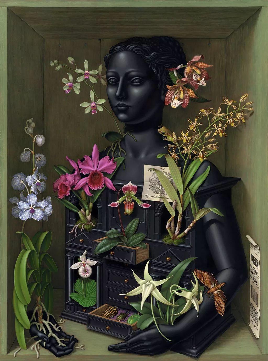超现实主义,美国画家玛德琳·冯·福斯特插图33