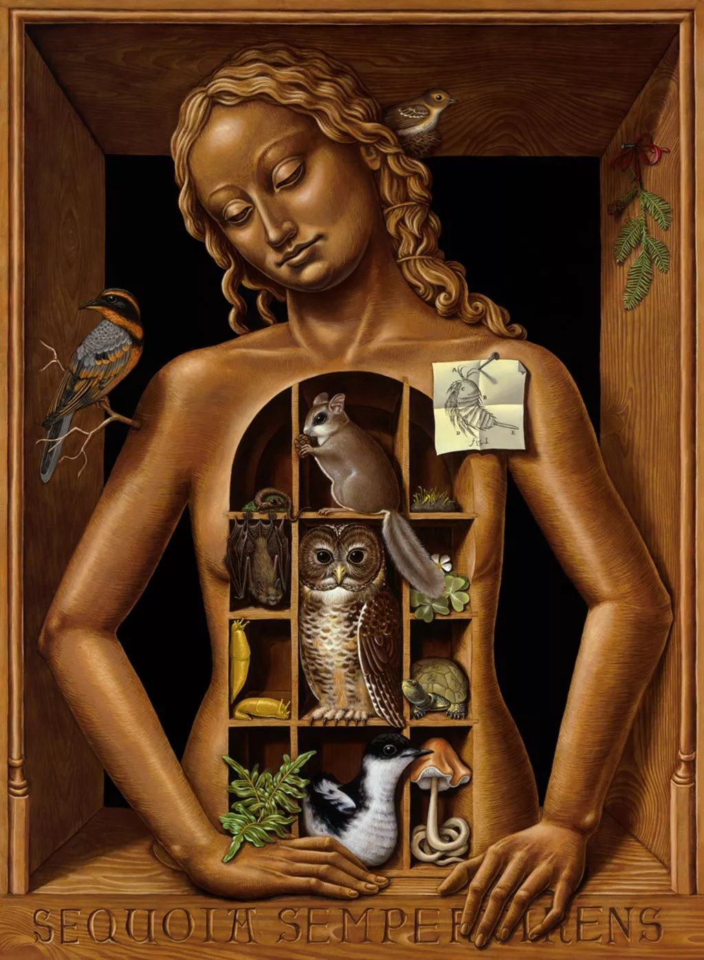 超现实主义,美国画家玛德琳·冯·福斯特插图35