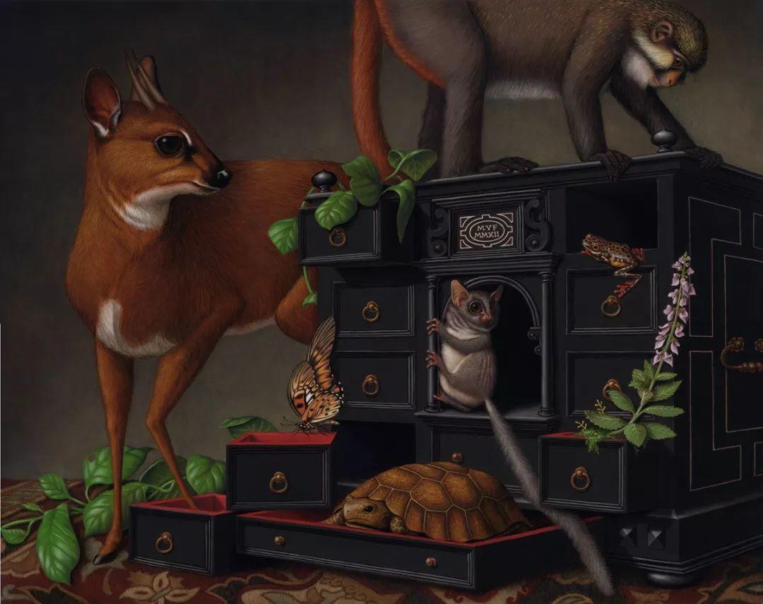 超现实主义,美国画家玛德琳·冯·福斯特插图37